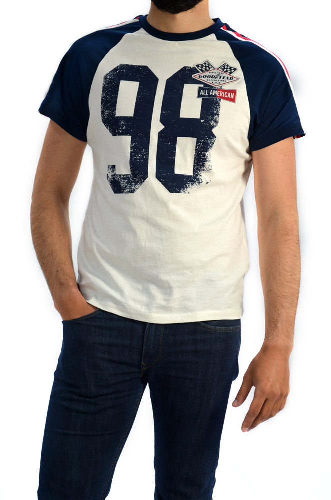 CAMISETA GOOD YEAR MD. 400717 BLANCO