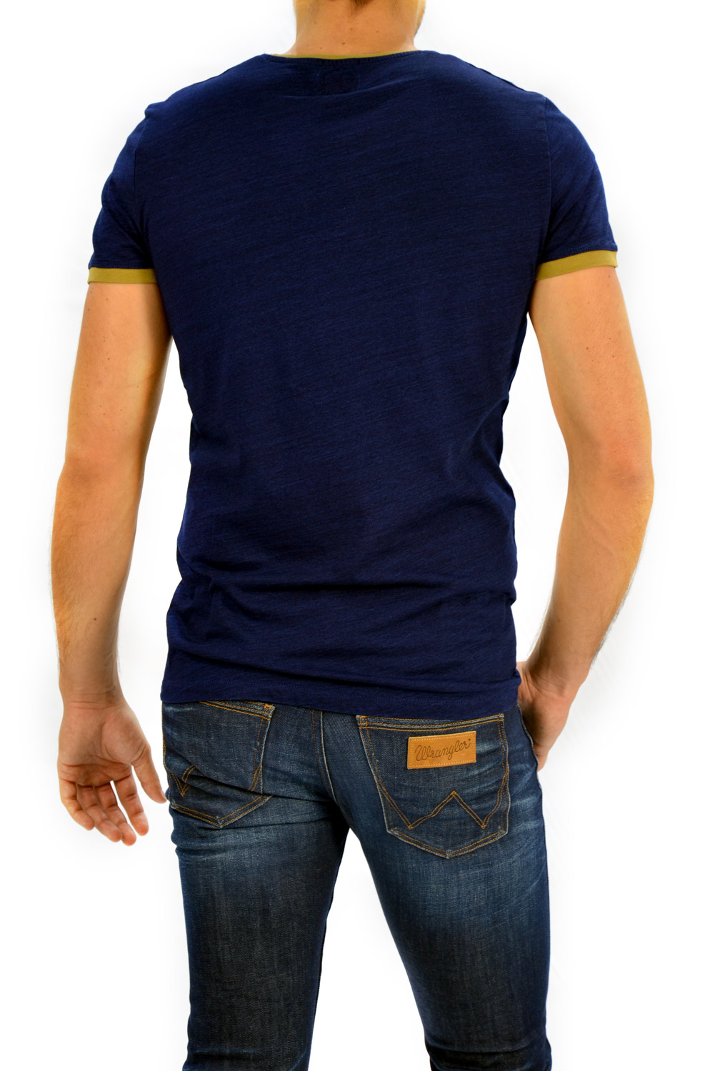 CAMISETA WRANGLER INDIGO SIGN OFF TEE DARK INDIGO