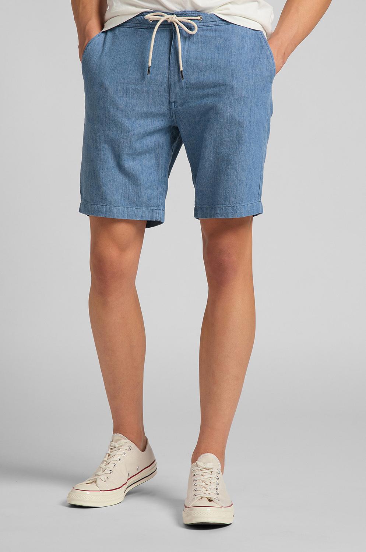 Pantalon Lee Drawstring Short Rinse
