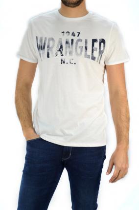 CAMISETA WRANGLER TEE WHITE - Ver los detalles del producto