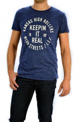 CAMISETA LEE MELE REAL TEE MEDIEVAL BLUE - Ver los detalles del producto