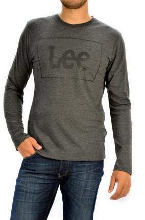 CAMISETA LEE TEE BLACK - Ver los detalles del producto