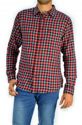 CAMISA WRNAGLER 1PKT SHIRT RED - Ver los detalles del producto