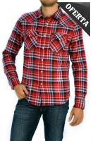 Ver los detalles de  CAMISA LEE WESTERN SHIRT RED RUNNER