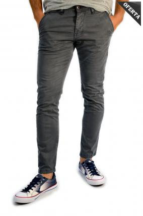 PANTALON CHINO YES ZEE CO. GRIS - Ver os detalles do produto