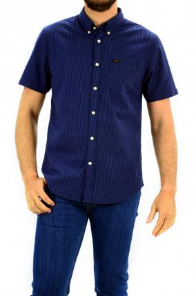 CAMISA LEE BUTTON DOWN NAVY DROP - Ver os detalles do produto