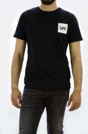 CAMISETA LEE LOGO TEE BLACK - Ver os detalles do produto