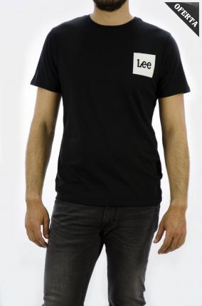CAMISETA LEE LOGO TEE BLACK - Ver los detalles del producto