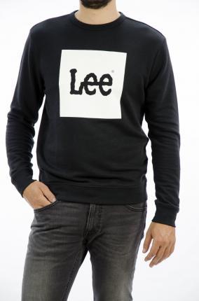 SUDADERA LEE LOGO SWS BLACK - Ver los detalles del producto