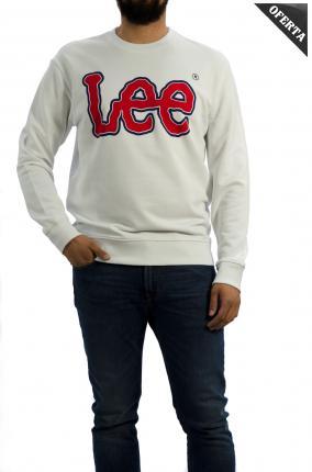 SUDADERA LEE LOGO SWS WHITE - Ver los detalles del producto