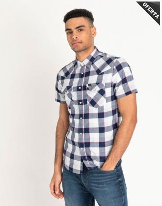 CAMISA LEE SS WESTERN BLUEPRINT - Ver os detalles do produto
