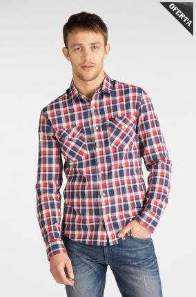 CAMISA LEE CLEAN WESTERN SHIRT POPPY RED - Ver os detalles do produto