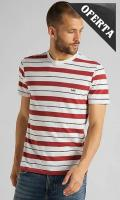Ver los detalles de  CAMISETA LEE STRIPE TEE RED OCHRE