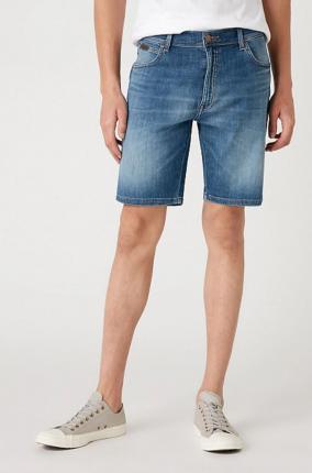 Vaquero Wrangler Texas Shorts De lite Blue - Ver los detalles del producto