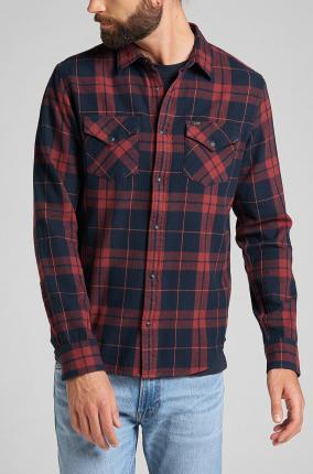 Camisa Lee Clean Reg Western Fired Brick - Ver los detalles del producto